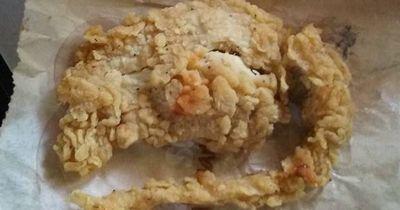 Ekliger Fund bei KFC
