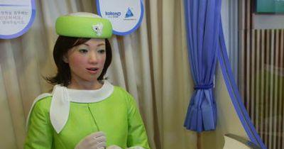 Dieses Hotel beschäftigt Roboter