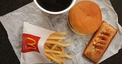 Ed Porter bestellte sich einen Burger bei McDonalds...