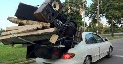 6 unglaubliche Transport-Fails