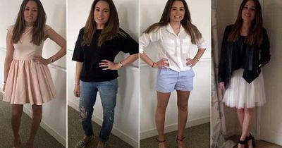 25-jährige Britin trägt jedes Outfit nur einmal