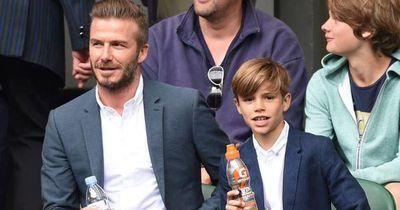 Beckham: Vater und Sohn sind sich einig