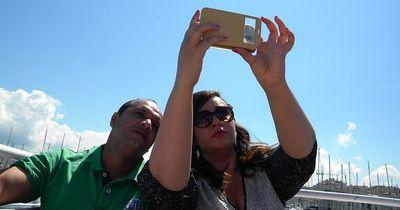 Hier könnte ein Selfie das Leben kosten