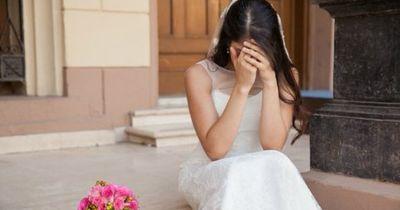 Sie erlebte während ihrer Hochzeit einen Albtraum