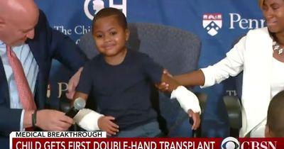Medizinisches Wunder - Achtjähriger bekommt beide Hände transplantiert
