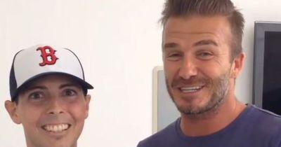 David Beckham erfüllt krebskrankem Mann den größten Wunsch