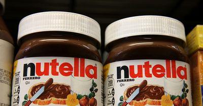 Ein Nutella-Glas zum Abschließen