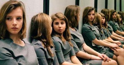 Weißt du wie viele Mädchen auf dem Foto sind?