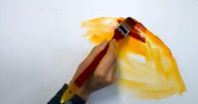 In Sekunden entsteht ein überwältigendes Kunstwerk!