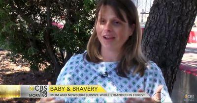 Waldbrand rettet Mutter und ihr Baby
