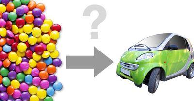 Rätsel: Wie viele Smarties passen in einen Smart?