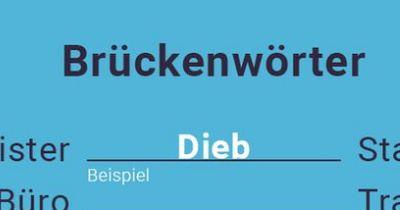 Das Brückenwörter-Rätsel!