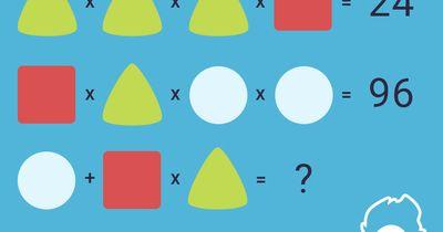 Welches Symbol steht für welche Zahl?