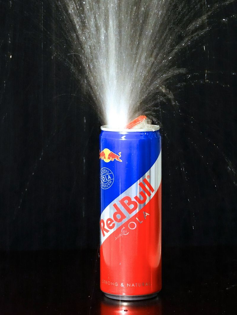 Zu Viel Red Bull