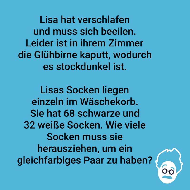 Lisas Sockenproblem!
