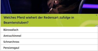 Kannst du alle 50 Euro Fragen beantworten?