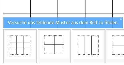 Kannst du diesen Muster-Test meistern?