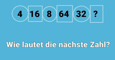 Wie lautet die nächste Zahl?