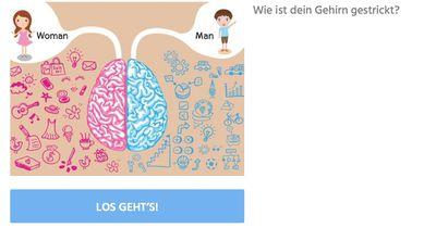 Ist dein Gehirn eher Männlich oder Weiblich?