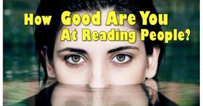 Wie gut kannst du in menschlichen Gesichtern lesen?