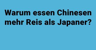 Chinesen und Japaner