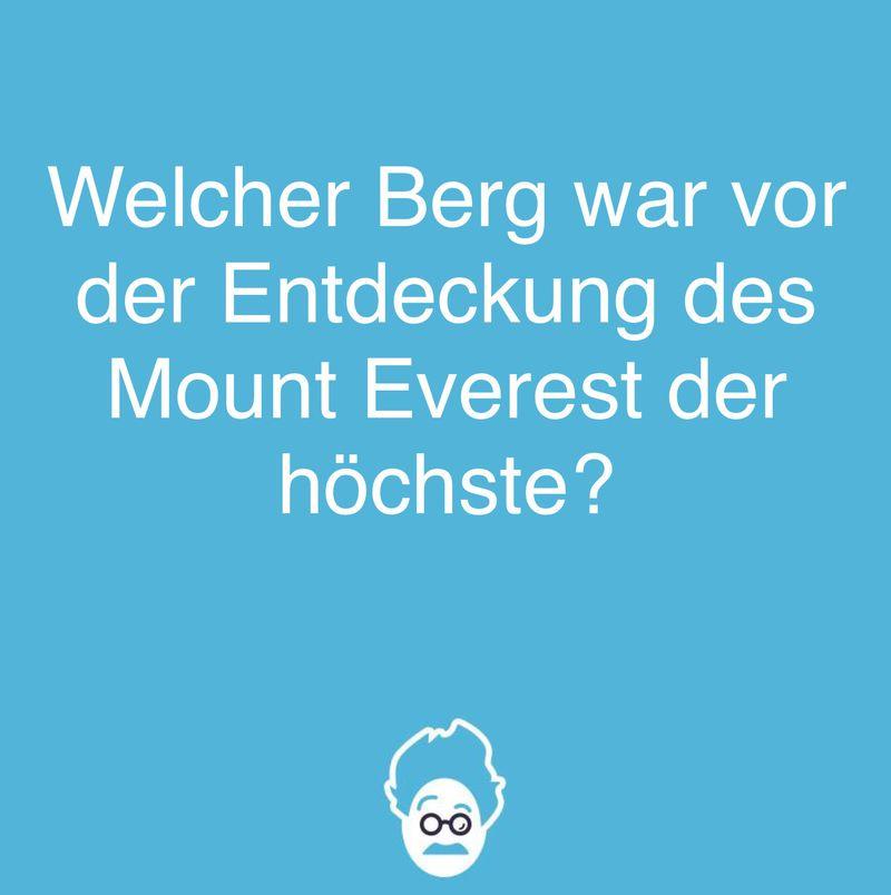Mount Everest!