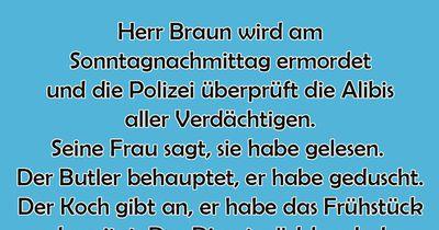 Herr Braun ist tot
