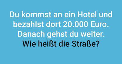 Das teure Hotel