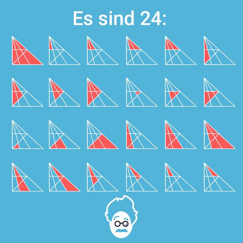 Wie Viele Dreiecke Siehst Du