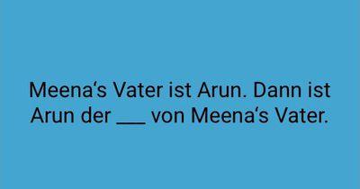 Meena's Vater