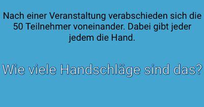 Der Handschlag