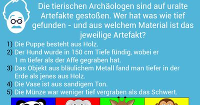 Archäologenglück