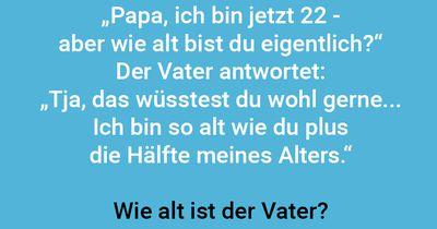 Wie alt ist der Vater?