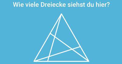 Versteckte Dreiecke