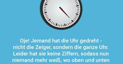 Die ziffernlose Uhr