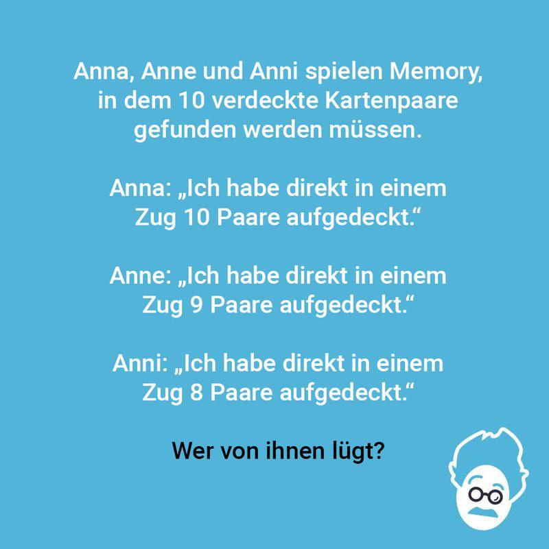 Komm, wir spielen Memory