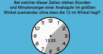 Verwinkelte Uhr