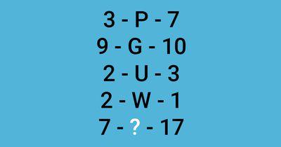Welcher Buchstabe fehlt?