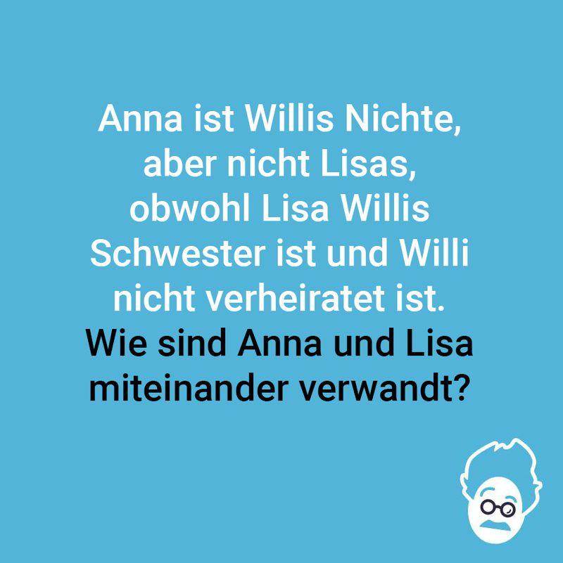 Anna, Lisa und Willi