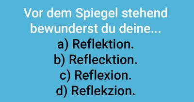 Weißt du, wie diese Wörter richtig geschrieben werden?