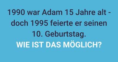 Adam, der Zeitreisende?