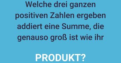 Summen und Produkte