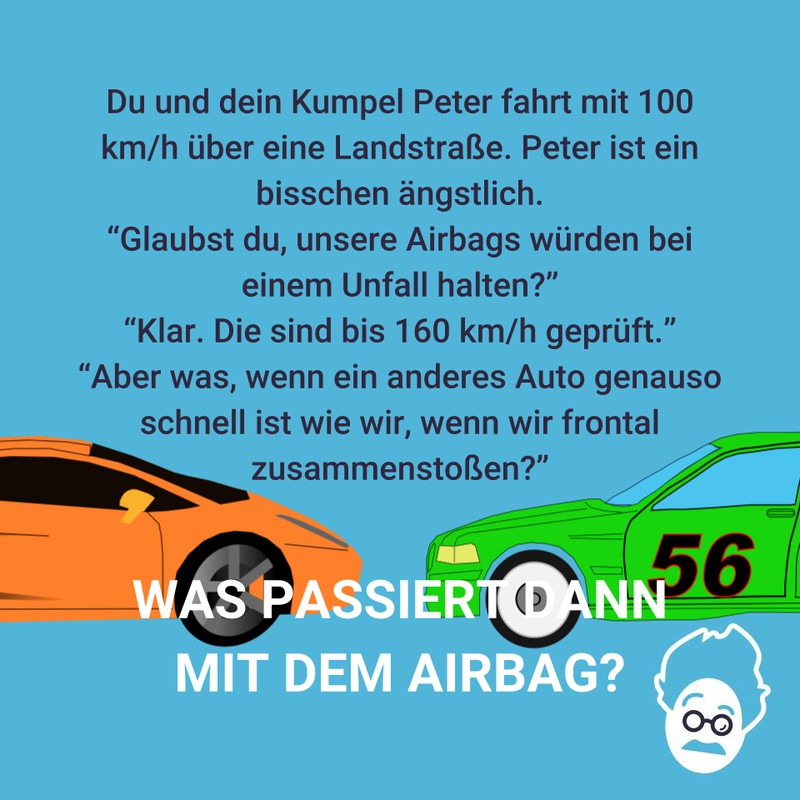 Airbags bei 100 km/h