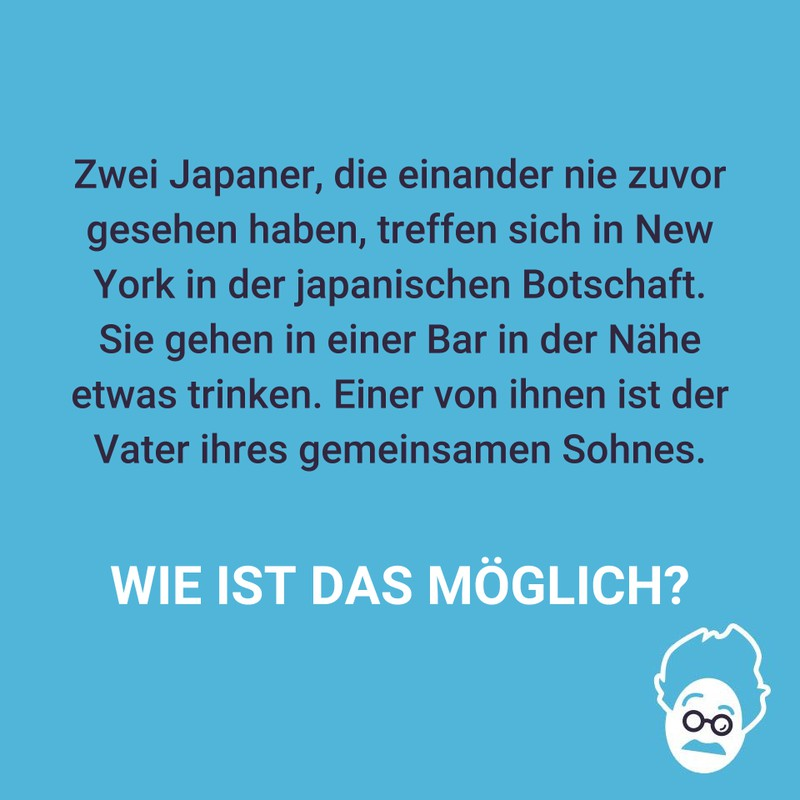 Zwei Japaner in New York